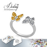 Кристалл Jewellery судьбы от кольца любовников бабочки Swarovski