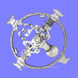 Car Steering Wheel의 주문을 받아서 만들어진 Die Casting Mould