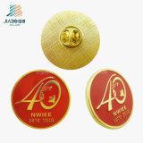 Pin de collar de encargo vendedor caliente del oro del recuerdo de Veitnam del esmalte del bastidor
