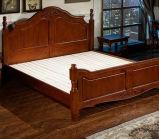 Camas matrimoniales modernas de la cama de madera sólida (M-X2262)