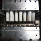 Vier-Spalte Plastikcup, das Maschine herstellt