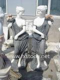 Statue en marbre / sculpture sur pierre / Marbre chinois