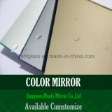 El espejo teñido/adorna el espejo del espejo/de la pared del fondo/el espejo de la pared