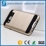 Geval van de Telefoon van het Satijn van de borstel het Mobiele voor Rugdekking van de Melkweg van Samsung de Schokbestendige J5