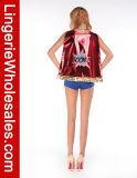 Costume de Cosplay de Superhero de Veille de la toussaint de fille de la bande dessinée des femmes sexy