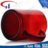 кружка воды горячего надувательства красного цвета 240ml стеклянная (CHM8133)
