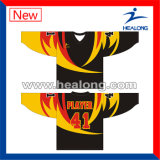 Ontwerp van het Model van Jersey van het Ijshockey van Healong het Kleurrijke, Aangepast Ontwerp