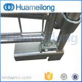 Zusammenklappbare faltbare stapelbare Rahmen-Stahlladeplatte