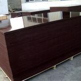 madera contrachapada Shuttering hecha frente película de la construcción del precio bajo de 18m m