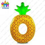Кольцо Swim поплавков бассеина Donuts раздувного воздуха ананаса плавая
