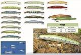 Amorce choisie de bonne qualité attrait de flottement et de coulage de 120mm de vairon de pêche