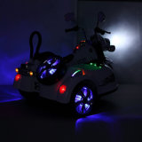 LED Police Electric Batterie Opérée Enfants 3 Wheels Toy Motorcycle