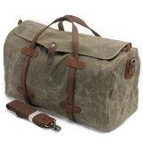 2032カーキ色の/Black /Navyの緑か灰色ビジネス袋の防水人または女性のキャンバス旅行袋