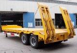 De hete de 3-as van de Verkoop Semi Aanhangwagen van Lowbed van de Lading