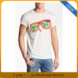 Magliette adulte su ordinazione di stampa dello schermo del manicotto di Short del cotone