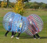 Commerial Body Zorb Ball, Soccer Event Games 1.5m PVC를 위한 Bubble Football
