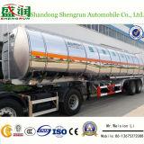 De Aanhangwagen van de Trein van de Weg van de Aanhangwagen van de Tank van de Tafelolie van de Legering van het Aluminium van het nut