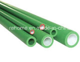 Tubo de la fibra de vidrio de PPR para la talla 20m m a 160m m del agua