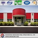 Vor ausgeführtes Stahlkonstruktion-Verwaltungs-Gebäude mit Balkon