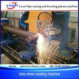 Machine de découpage de plasma de pipe de tube d'acier inoxydable d'axe de la haute performance 5