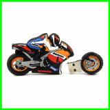 PVCメモリ棒のオートバイUSB Pendrive