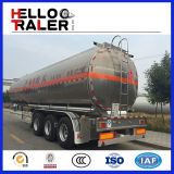 45000 litri di autocisterna del petrolio greggio che trasporta il rimorchio del camion di combustibile
