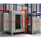 Migliore Selling Manual Powder Coating Booth con Recovery System
