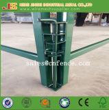 Grünes Puder-zäunen überzogener Metallviehbestand Panel-Pferden-Zaun-Panel-Vieh-Yard ein