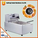 Petites friteuse d'acier inoxydable/machine électriques de faire frire