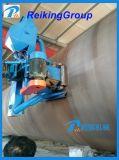Eliminación externa del moho de la máquina del chorreo con granalla del tubo de acero