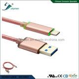 LED 빛을%s 가진 지능적인 비용을 부과 및 데이타 전송을%s USB 3.0 a/M 케이블에 C를 타자를 치십시오