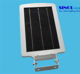 6W LED 12W Solar Panel All in One Luz solar del jardín (SNSTY-206A)