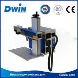 Preço plástico da máquina da marcação do laser da fibra da caixa do telefone do anel do metal