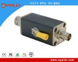 Protecteur coaxial de tonnerre de foudre du saut de pression Potector/BNC