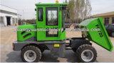 scaricatore idraulico dell'azionamento 2ton della rotella 4X4 mini dalla Cina