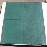 Couvre-tapis en caoutchouc Rubber&#160 User-Résistant de plancher de gymnastique de gymnastique de couvre-tapis en caoutchouc en caoutchouc de couvre-tapis ; Tuile