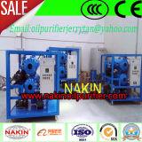 Máquina da purificação da máquina/petróleo do tratamento da força dieléctrica do petróleo do transformador de Nakin