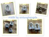 Bride en acier galvanisée de fer pour le clip de câble métallique