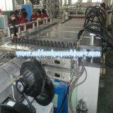 Macchina dell'espulsore della scheda della gomma piuma di WPC con la linea di produzione della scheda di WPC