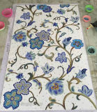 Mosaico de la flor, mural del mosaico, mosaico artístico para la pared (HMP807)