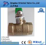 Valvola a sfera d'ottone dell'acqua di alta qualità di prezzi di fabbrica (PN25 con CE)