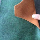 ソファーファブリック(MONTREUX)を見る革が付いているポリエステル編むビロード