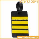 L'étiquette molle de bagage de PVC de qualité avec conçoivent en fonction du client (YB-LY-LT-01)