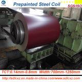 Сталь здания/Prepainted гальванизированная стальным катушка катушки PPGI покрынная цветом стальная