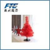 albero di Natale della decorazione di 30cm con i coni e l'indicatore luminoso del pino