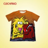 Sublimation T Shirt com Good Quality, t-shirt para Kids, t-shirt de Comfortable de Funny Picture