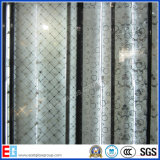 glace de peinture de dos de 3-12mm/panneau laqué en verre Tempered/glace décorative