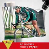 Papel brillante para inyección de tinta de alta RC Glossy Photo Paper