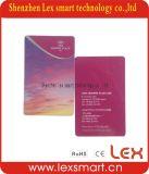 Cartes bon marché en plastique de PVC estampées par coutume d'affaires d'adhésion d'entreprises de cartes