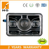 CREE quadrato LED Headlight di High Low Beam 4X6 per Motorcycle Trucks Lorries